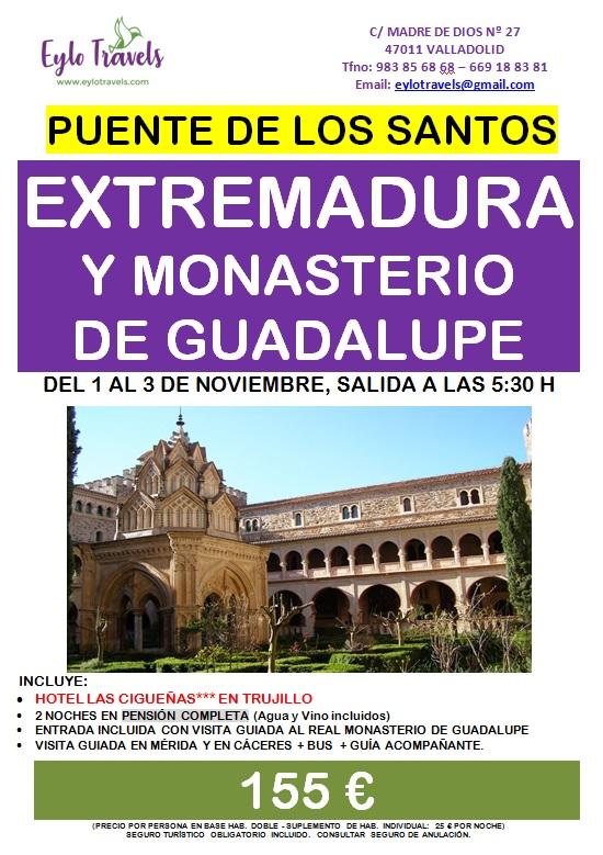 Extremadura - puente de los santos - del 1 al 3 de noviembre