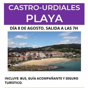 Excursión Playa Castro Urdiales